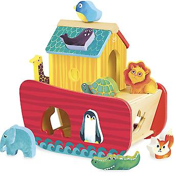 Vilac Animals Ark Shape Sorter