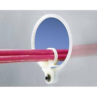 Panduit LHMS-S10-C LHMS-S10-C Cable mount Screw fixing Ecru 1 pc(s)