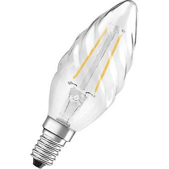 OSRAM LED EEC A++ (A++ - E) E14 Candle twisted 2 W = 23 W Warm white (Ø x L) 35 mm x 99 mm Filament 1 pc(s)