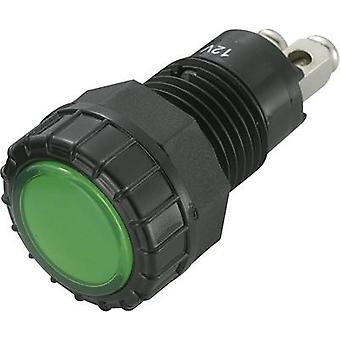LED indicator light Green 12 Vdc