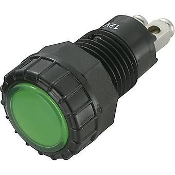SCI LED indicator light Green 12 Vdc R 9-122 L 1-06-bgg 4