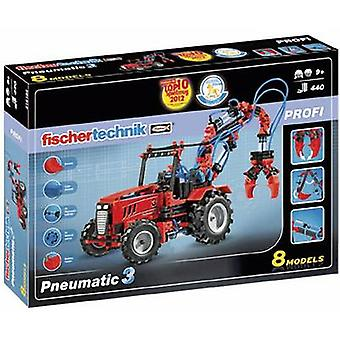 Science kit fischertechnik Pneumatic 3 516185 9 years and over