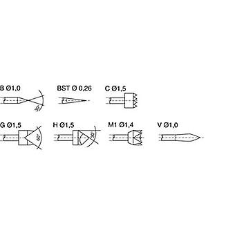 PTR 1025/E-G-1.5N-AU 1.5 Precision test tip