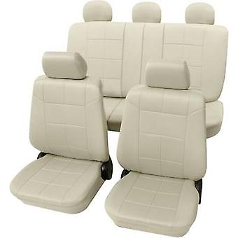 Petex 22574909 Dakar SAB 1 Vario Plus Seat covers 17-piece Polyester Beige