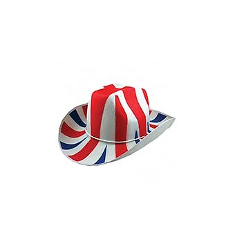 Union Jack Wear Union Jack Cowboy Hat