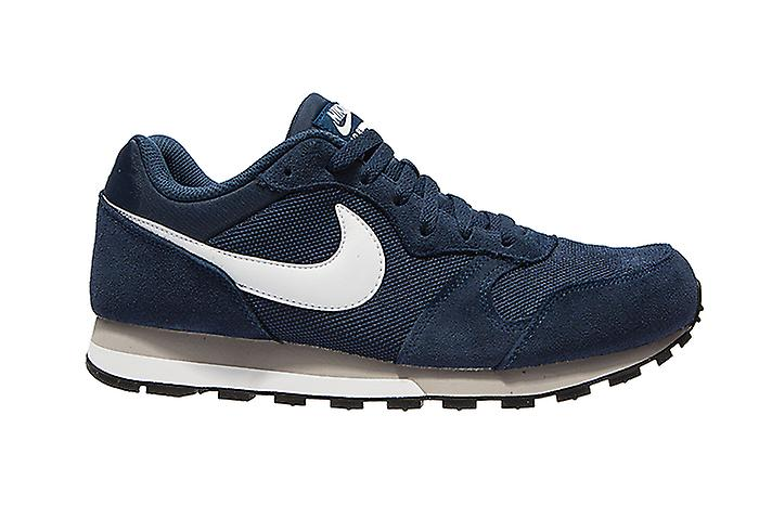 NIKE MD runner suede men's sneaker Blau