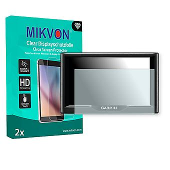 Garmin Nüvi 68LMT Screen Protector - Mikvon Clear (Retail Package with accessories)