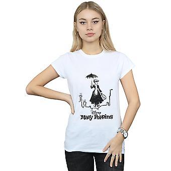 Mary Poppins Rooftop donna Disney atterraggio t-shirt