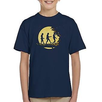 Origineel Stormtrooper Forest Moonlight Kid's T-Shirt