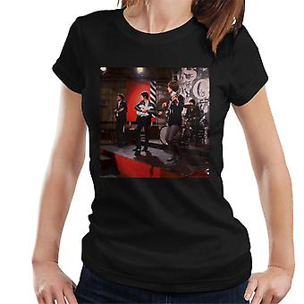 TV Times The Kinks Live klar Steady Go dame T-Shirt