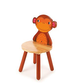 Tidlo Wooden Chair - Monkey