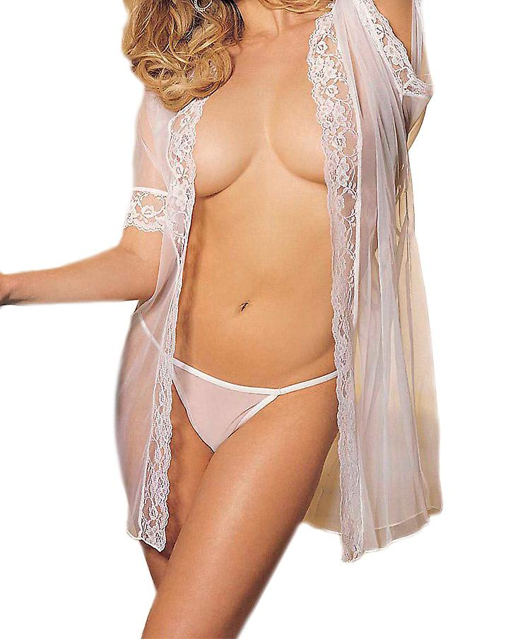 Waooh - Lingerie - Lace Negligee and string