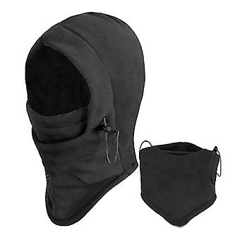 TRIXES Thermal Balaclava Fleece Hood Mask Head & Neck Warmer