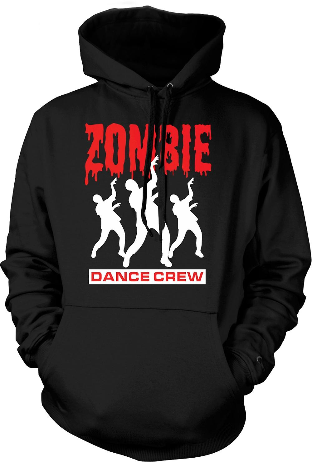Mens-Hoodie - Zombie Dance Crew - witzige Horror