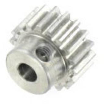 モーターのピニオン Reely モジュール型: 0.6 穴径: 3.2 mm 号歯の: 18