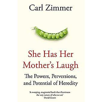 Sie hat ihre Mutter lachen