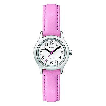 T790814E Timex Analog Frauen Handgelenk, Haut, rosa