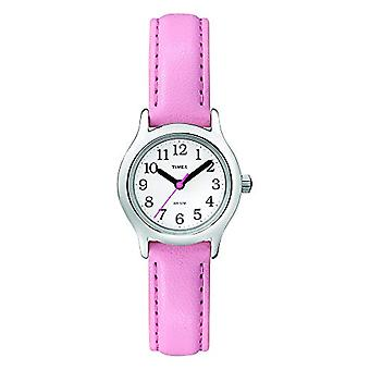 T790814E Timex analoge vrouwen pols, huid, roze