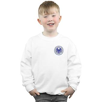 Marvel Boys Agents Of SHIELD Breast Print Sweatshirt