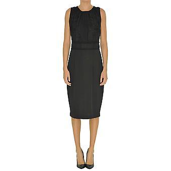 Seventy Black Polyester Dress