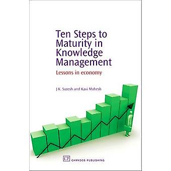 Ten Steps to Maturity in Knowledge Management Lessons in Economy by Suresh & J. K.