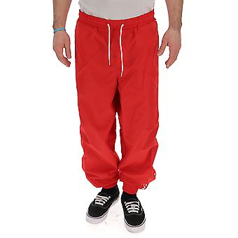 Calvin Klein Jeans Red Nylon Pants
