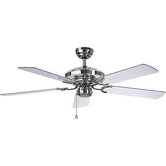 Ceiling fan ACRYLIC Chrome 132cm / 52