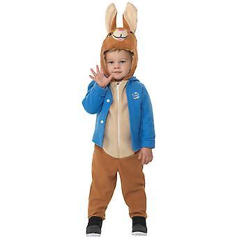 Deluxe Peter Hase Kinderkostüm Unisex Kleinkinder Karneval Rabbit