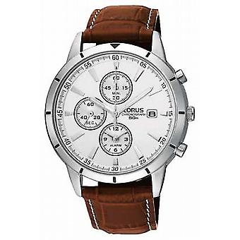 Lorus Mens Chronograph Alarm Strap RF325BX9 Watch