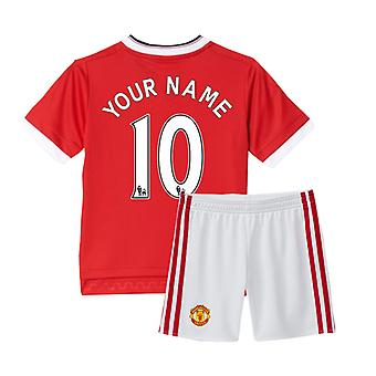 2015-16 Man Utd Home Mini Kit (Your Name)