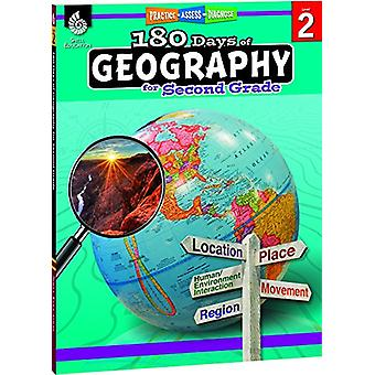 180 Days of Geography for Second Grade (Grade 2) - Practice - Assess -