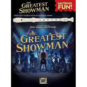The Greatest Showman - Recorder Fun] (Book/Recorder) by The Greatest S