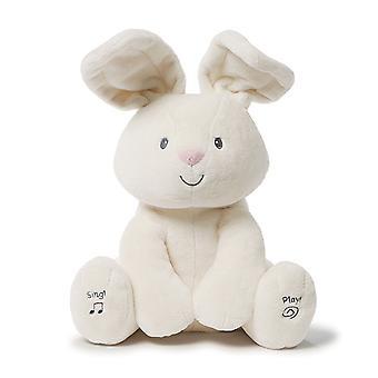 La felpa animada Gund flora Bunny