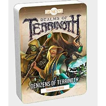 Genesys RPG Denizens of Terrinoth Card Deck Game