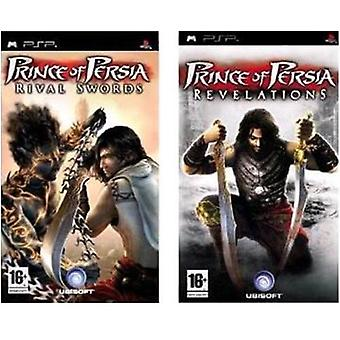 Prince of Persia Rival Swords And Revelation Double Pack PSP Game