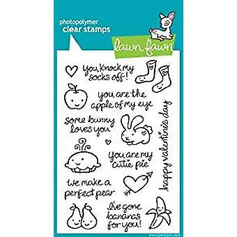 Lawn Fawn Clear Stamps My Silly Valentine (LF332)
