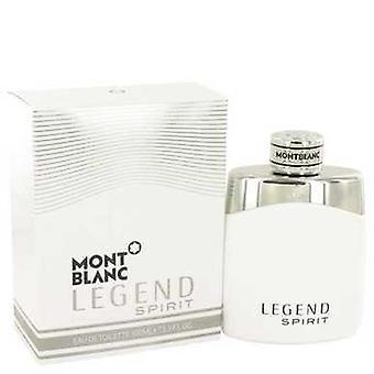 Montblanc legende Spirit door Mont Blanc Eau de Toilette Spray 3,3 oz (mannen) V728-533327