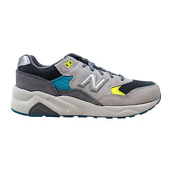 New Balance 580 Boys Grey/Yellow-Blue KL580GYG Grade-School