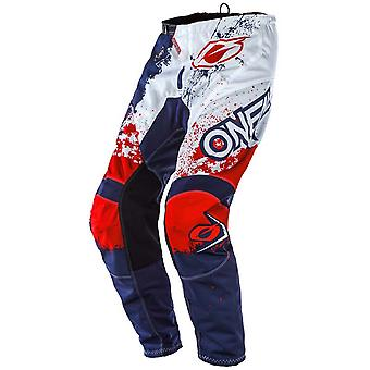 ONeal Blue-Red 2020 Element Impact MX Pant