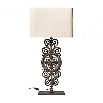 Premier Home Pacific Table Lamp, Powder Coated Metal, Multi-Coloured