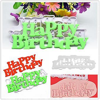 Happy Birthday Template Decorating