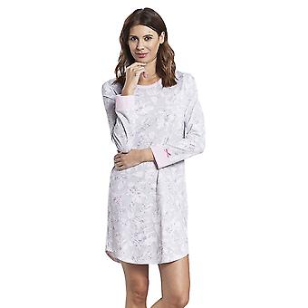 Rosch 1884150-11913 Women's Smart Casual Everyday Grey Floral Cotton Nightdress