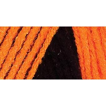 Red Heart Team Spirit Yarn Orange Black E797 972