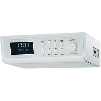 Internet Kitchen radio, Radio base component Hama IR320 AUX, Internet radio White