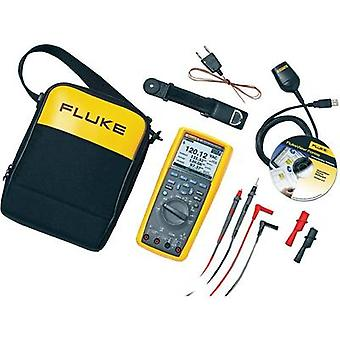 Handheld multimeter digital Fluke 289/FVF/EUR Calibrated to: Manufacturer's standards (no certificate) Graphics display,