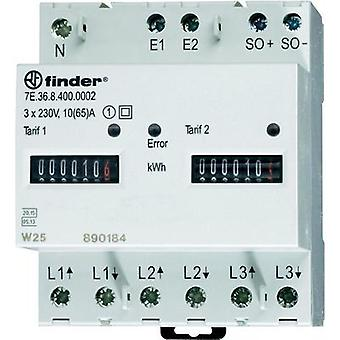 Electricity meter (3-phase) mechanical 65 A MID-approved: Yes Finder 7E.36.8.400.0012