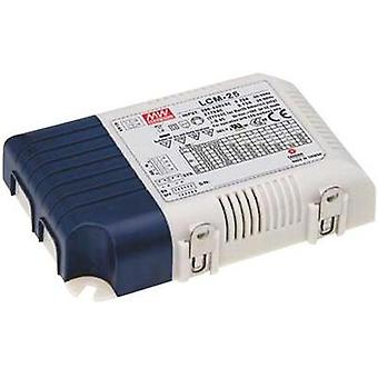 LED driver, LED transformer Constant voltage, Constant current Mean Well LCM-25DA
