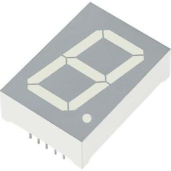 Seven-segment display Red 25 mm 4.5 V, 2.25 V No. of digits: 1