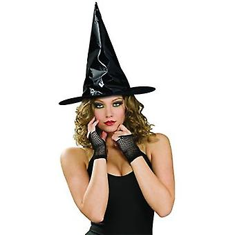 Rubie's Black Patent Leather Witch Hat (Kostuums)