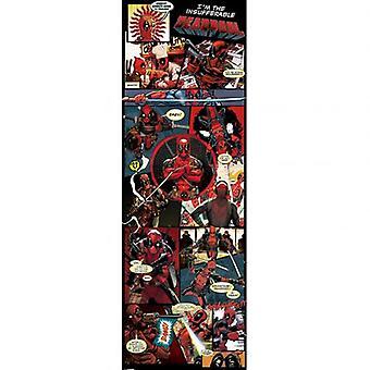 Deadpool døren plakat 304